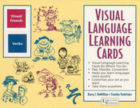 French Verbs: Visual Language Learning Cards by B. J. Demillion image