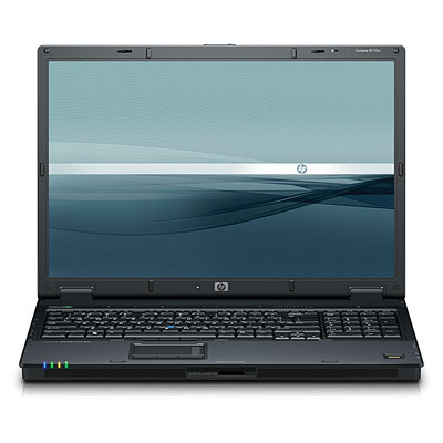 "HP 8710w Core 2 Duo T7700 2GB 120GB DVDRW 17"" VBus Intel Core 2 Duo T7700 2.4GHz 17"" Wide WUXGA 1920x 1200 NVIDI"
