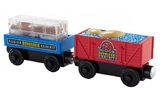 Thomas & Friends Dino Fossil Discovery Wooden Railway (2 Pack)