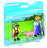Playmobil: Country Woman & Boy Duo Pack