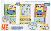 Minions Canvas Painting Set