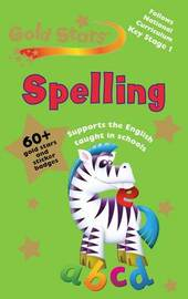 Gold Stars Workbook: Spelling image