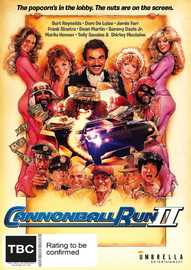 Cannonball Run II on DVD