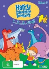 Harry And His Bucket Full Of Dinosaurs - Vol. 4: 1 2 3..Jump! on DVD