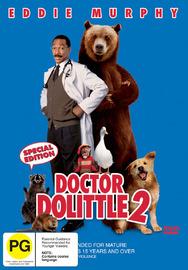 Dr Dolittle 2 on DVD image