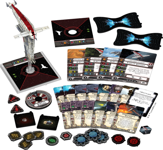 Star Wars X-Wing: Resistance Bomber Expansion Pack