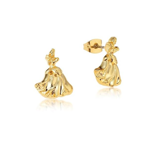 Couture Kingdom: Disney - Princess Cinderella Stud Earrings (Yellow Gold)