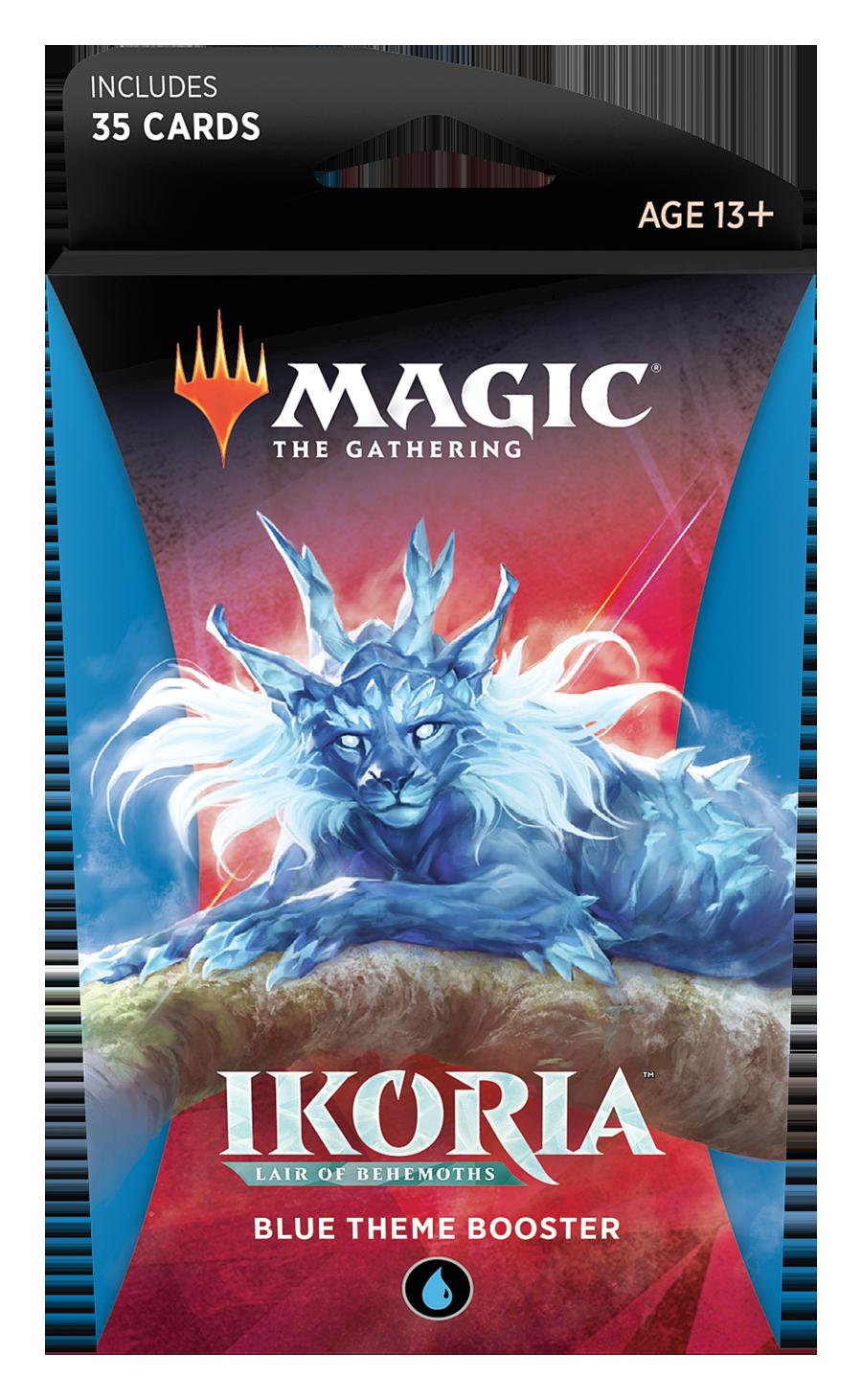 Magic the Gathering: Ikoria: Lair of Behemoths - Theme Booster Blue image