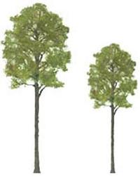 "JTT Scenic Cypress Trees 3"" (3pk) - H0 Scale"