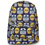 Loungefly Star Wars R2-D2 & C3PO Backpack