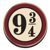 Harry Potter Platform 9 3/4 Badge