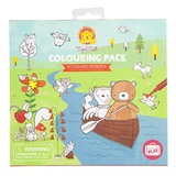 Tiger Tribe: Colouring Pack (Woodland Friends)