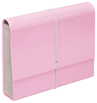 FM: A4 Pastel - Expanding File (Piglet Pink)