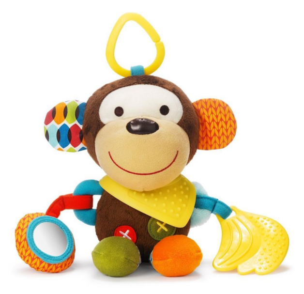 Skip Hop: Bandana Buddies - Monkey Activity Toy