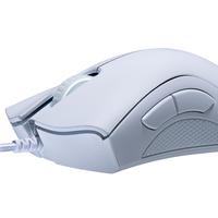 Razer DeathAdder Essential Gaming Mouse (White) for PC