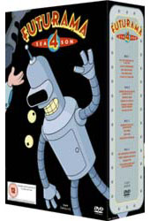 Futurama - Season 4 Box Set (4 Disc) on DVD