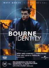 Bourne Identity on DVD