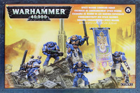 Warhammer 40,000 Space Marine Command Squad image