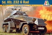 Italeri: 1/72 SD. KFZ.232 6 RAD - Model Kit