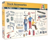 Italeri: 1:24 Truck Accessories - Model Kit