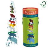 Crocodile Creek Tower Puzzle Jungle 36pc