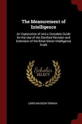 The Measurement of Intelligence by Lewis Madison Terman image