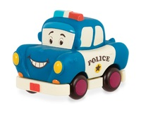 Battat: B. Mini: Pull-Back Vehicle - Police Car