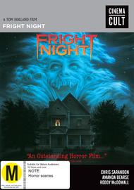 Fright Night on DVD
