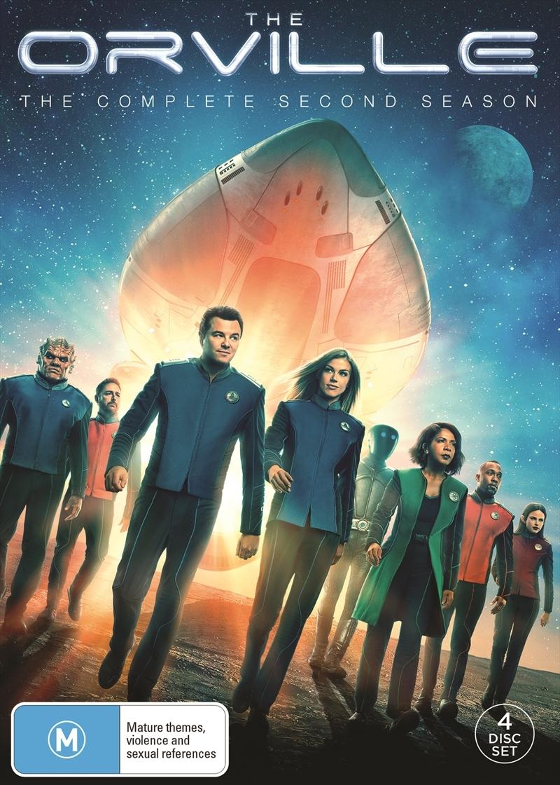 The Orville: Season 2 on DVD image