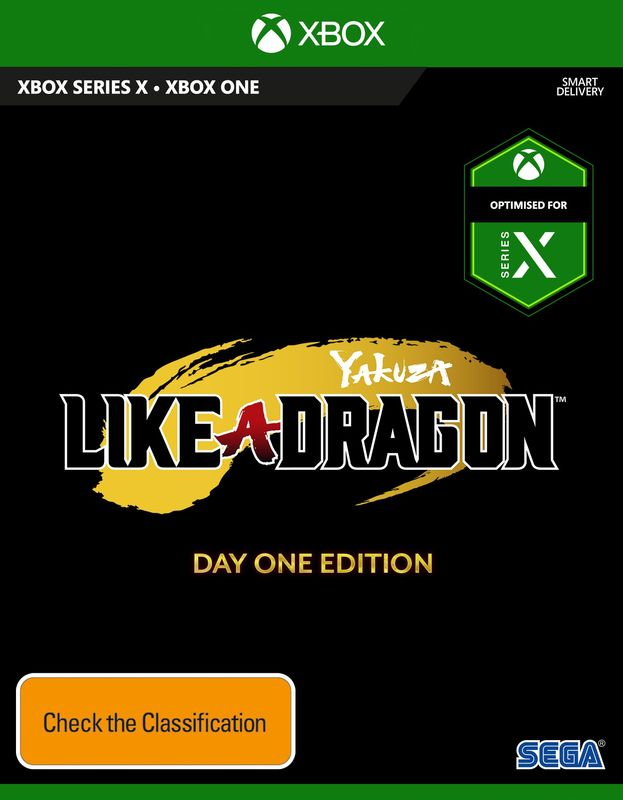 Yakuza: Like a Dragon Day One Edition for Xbox One
