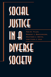 Social Justice in a Diverse Society by Tom R Tyler image