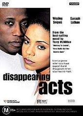 Disappearing Acts on DVD