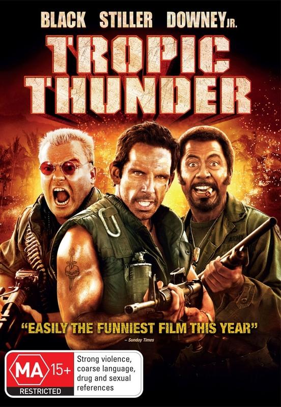Tropic Thunder on DVD