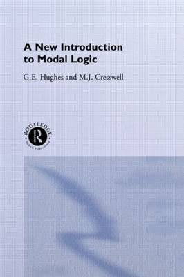A New Introduction to Modal Logic by M.J. Cresswell image