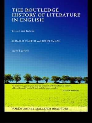 The Routledge History of Literature in English by Ronald Carter image