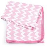 Bumkins: Waterproof Splat Mat - Pink Chevron