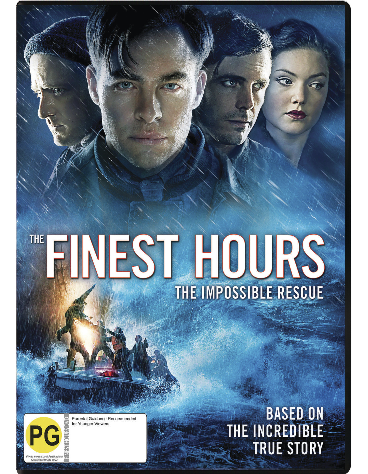 The Finest Hours on DVD image
