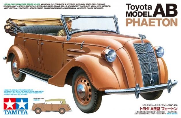Tamiya 1/35 Toyota Model AB Phaeton - Model Kit