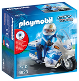 Playmobil: Police Bike with LED Light