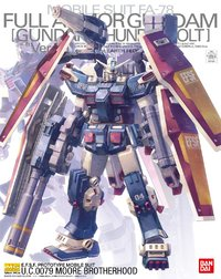 MG 1/100 : Full Armor Gundam Ver.Ka (GUNDAM THUNDERBOLT Ver.) - Model Kit
