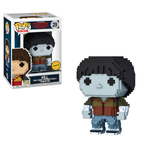 Stranger Things - Will (8-Bit) Pop! Vinyl Figure (with a chance for a Chase version!) image
