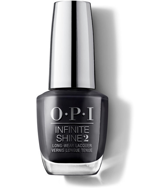 OPI Infinite Shine 2 Lacquer # IS L26 - Strong Coal-Ition (15ml) image