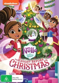 Nella The Princess Knight: The Knight Before Christmas on DVD