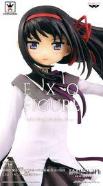Puella Magi Madoka Magica: The Movie Rebellion EXQ Figure - Homura Akemi - PVC Figure