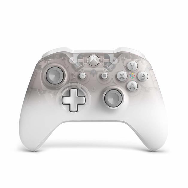 Xbox One Wireless Controller - Phantom White Special Edition for Xbox One