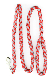 Pawise - Dog Reflective Leash - Large/Red (15mm x 120cm)