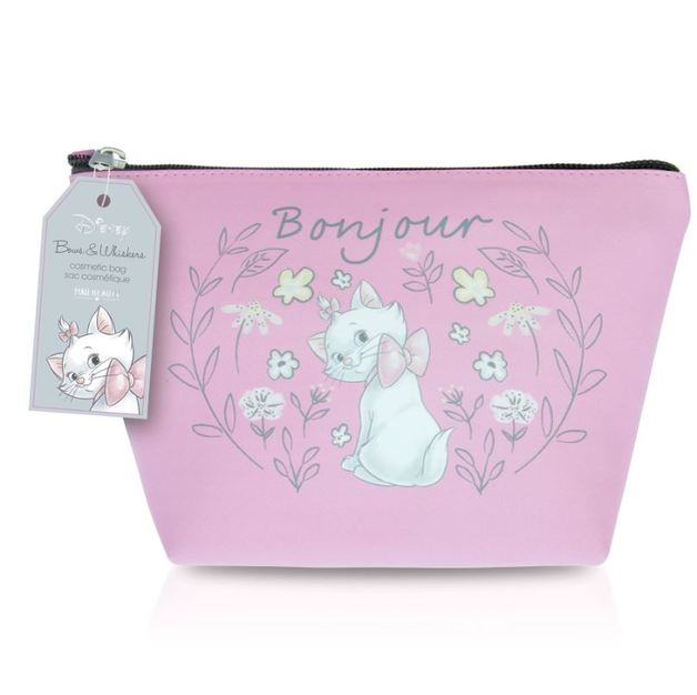 Mad Beauty: Marie Cosmetic Bag - Pink