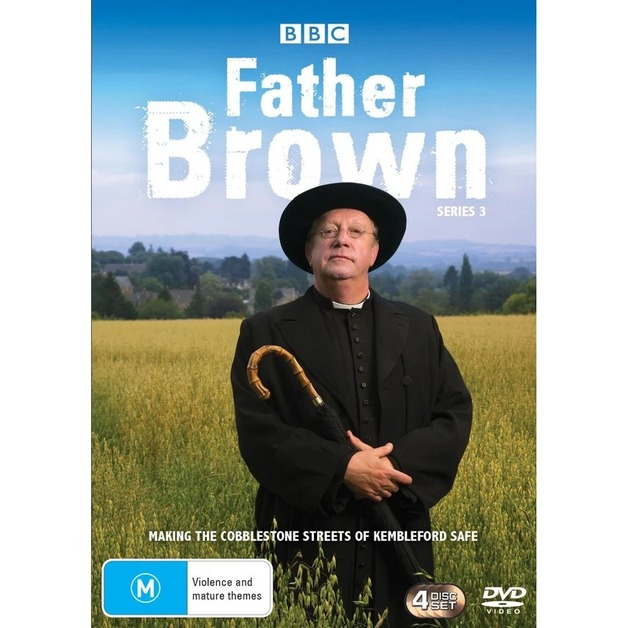 Father Brown - Series 3 on DVD