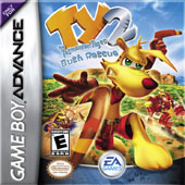 TY the Tasmanian Tiger 2 for Game Boy Advance