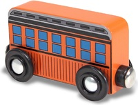Melissa & Doug: Wooden Magnet Passenger Car - 6 Pack
